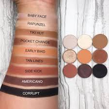 Kylie Cosmetics Bronze palette dupes ...