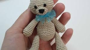 Crochet Teddy Bear Pattern Classy How To Make A Cute Small Crocheted Teddy Bear DIY Crafts Tutorial
