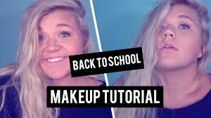 back to makeup tutorial 2016 light natural
