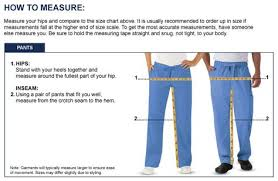 Uniform Advantage Size Chart Size Chart Clothing Corner Size Chart Chart Pants