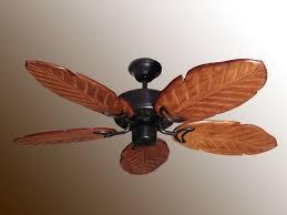tropical ceiling fan best tropical ceiling fan with five blades in brown wooden materials