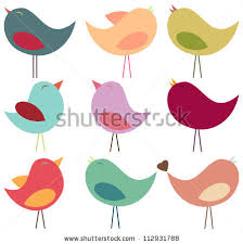 cute bird silhouette. Plain Silhouette Vector Collection Of Pastel Birds To Cute Bird Silhouette S