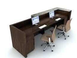 office desk for two people. Contemporary People 3 Person Desk Two Computer Home Office With Desks  Inside Pods In For People E