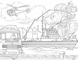Brandweer Politie Playmobil Kleurplaat