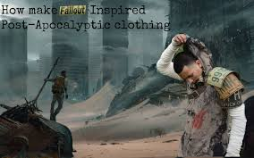How to make Post Apocalyptic clothing - YouTube