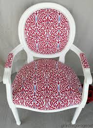 The anything-but-boring chair, my first big reupholstery redo ...