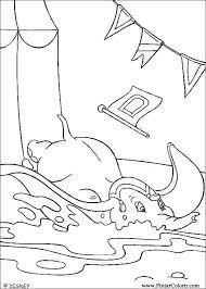 Disegni Per Dipingere Colour Dumbo Stampare Realizzazione 015