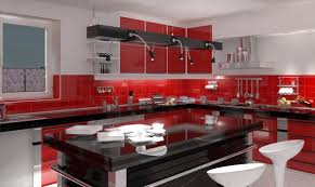 kitchen color ideas red. M : Kitchen Color Ideas With Dark Cabinets Open Storage Solid Brown Wooden Countertop Natural Mobile Island Minimalist Sides Seasoning Sto Red F
