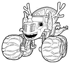 And The Monster Machines Coloring Pages