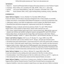 Sample Resume For Experienced Software Engineer Java Archives ...