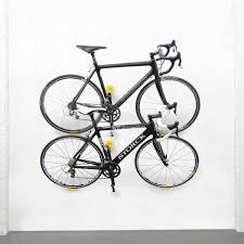Indoor Bike Storage Fabulous Indoor Bike Storage Solutions With Hooked Bike On Wall
