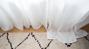 How To Hem Sheer Curtains With A Sewing Machine