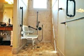 accessible shower designs handicapped bathroom designs with handicap