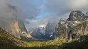 Yosemite Wallpaper: The Tunnel View
