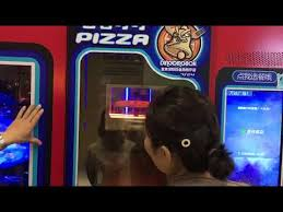 Tombstone Pizza Vending Machine New Hot Sale Fresh Pizza Vending Machine Full Automatic YouTube