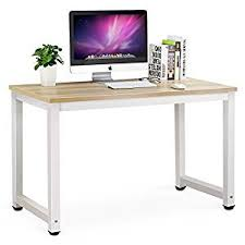 office desk pictures. Tribesigns Computer Desk, 47\u0026quot; Modern Simple Office Desk Table Study Writing For Pictures 5