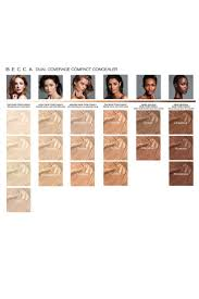 becca dual coverage pact concealer color chart i 39 m mac nc30 ud 3 5 4