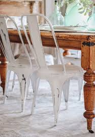distressed metal furniture. Sturdy Metal Chairs Vintage Furniture Dining For Sale  Distressed White Carlisle Chair Distressed Metal Furniture
