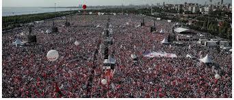 Image result for تجمع بزرگ مخالفان اردوغان در استانبول