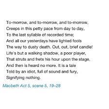 Macbeth Act V Scene 40 Lady Macbeth's Suicide Shakespeare Amazing Lady Macbeth Quotes