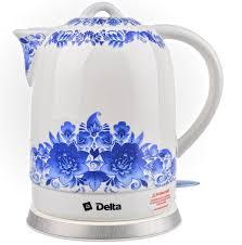 "<b>Чайник</b> керамический <b>DELTA DL</b>-<b>1233B</b> ""Гжель"" - купить с ..."