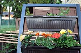 6 ft vertical garden by outland living freestanding raised elevated garden bed planter includes 4 28