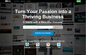 how to create a website for affiliate marketing easy don t freak out over this what you type in here won t be the of your site you can easily change it once you get in