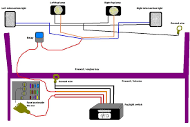 wiring diagram for fog lights wiring wiring diagrams online