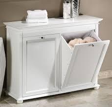 laundry furniture. Linen Cabinet W Laundry Hamper Bathroom Furniture Sets Pinterest