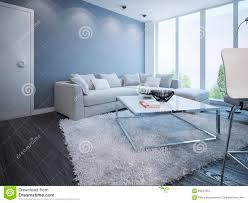 Scandinavian Design Living Room Living Room Scandinavian Design Stock Illustration Image 59227953
