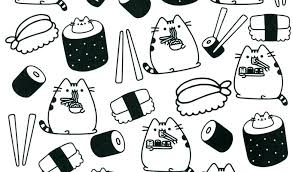 Pusheen Cat Coloring Pages Cute Coloring Pages Cute Coloring Pages