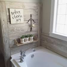 charming house pattern to rustic bathroom wall decor