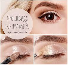 holiday shimmer eye tutorial