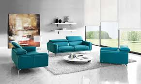 modern furniture living room blue. Wonderful Living Sprint 3 Pcs Leather Sofa Set To Modern Furniture Living Room Blue D