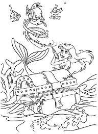 Boyama Sayfaları Küçük Deniz Kızı Hareketli Resimleri Gifleri