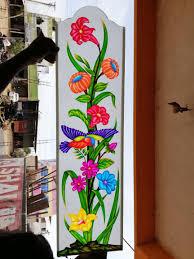 Flower Design Glass Door Pin By Sakthikumar Selvaraj On Glass Art A V M In 2019