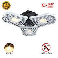 Garage Ceiling Light Fixtures 3000k Led Garage Lights Motion Activated 60w Garage Ceiling
