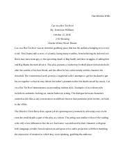 brent staples essay brent staples essay dr cohen enc  4 pages cat on a hot tin roof review