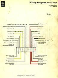 thesamba com type 3 wiring diagrams 1964
