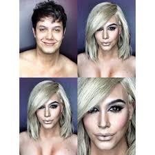 guy uses makeup to transform himself into female hollywood celebrities museperk kim kardashian a guys putting on makeup to look like celebrities