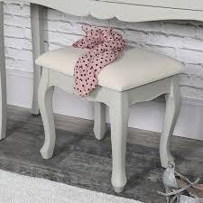 shabby chic style furniture. Albi Range - Dressing Table Stool Shabby Chic Style Furniture