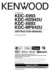 kenwood kdc x993 instruction manual type your new search above