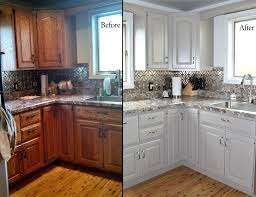painted oak cabinets before and after standard cabinets can be transformed into such styles as glaze painted oak cabinets before and after