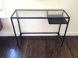 ikea desk office. Glass Top Computer Desk Ikea Office Narrow Storage Cheap . Large Size Of