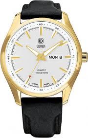 <b>Мужские часы Cover PL44027</b>.08 (Швейцария, кварцевый ...