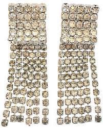 one kings lane vintage 1960s hoba crystal chandelier earrings jacki mallick designs