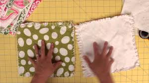 How to prep and cut squares for a rag quilt - YouTube &  Adamdwight.com