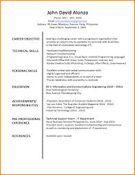 Cv Example Student Doc Cv Template Student Doc Professional User