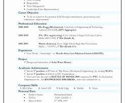 Internship Resume Template Download Student Resume Formats