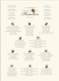 seating chart for wedding reception fall wedding seating charts autumn wedding reception seating